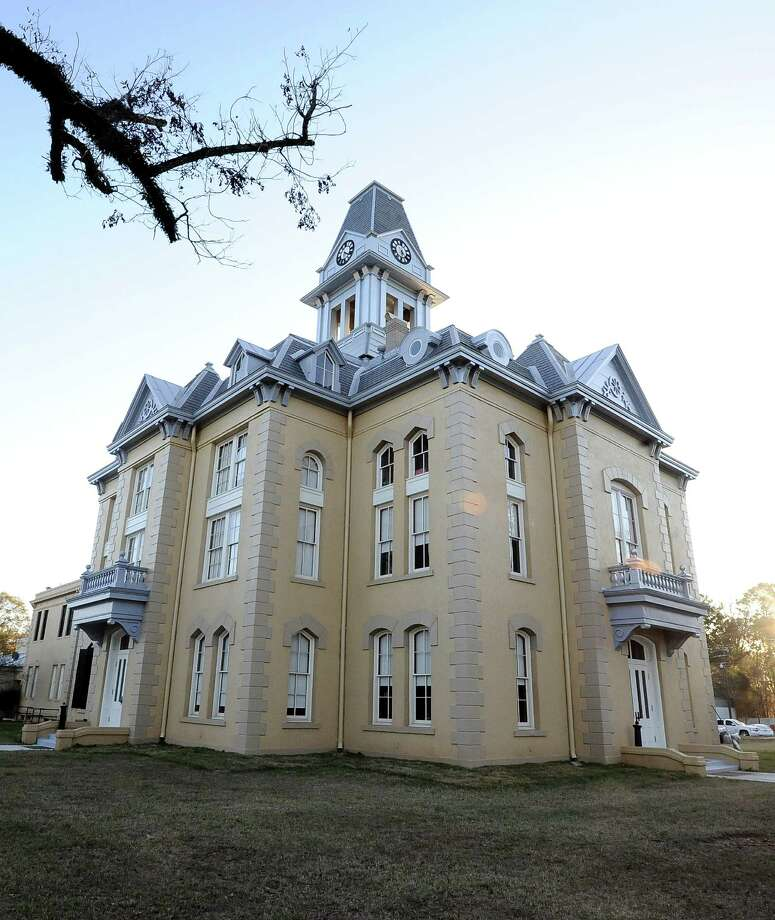 After being housed in other buildings around the Courthouse Square for over 12 years, Newton County Judge Truman Dougharty and other county officials will move back into the original location of the Newton County Courthouse on Monday, December, 10, 2012.  The courthouse was almost completely destroyed on August 4, 2000, when a fire ignited in the attic of the nearly 100 year old building.  The courthouse was restored to its original look from the early 1900's.  The re-dedication ceremony will be held at noon on Saturday, December 8, 2012.   Photo taken: Randy Edwards/The Enterprise