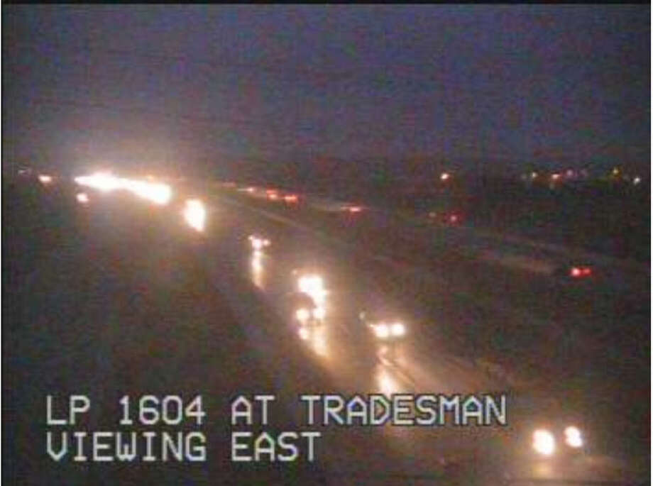 A fog advisory was in effect Friday morning. Photo: Transguide
