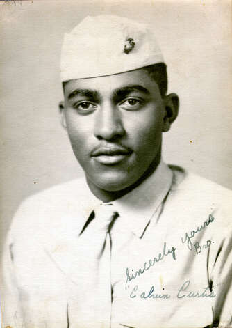 World War II Marine Corps veteran Calvin Curtis will receive the Congressional Gold Medal. Photo: Courtesy Photo