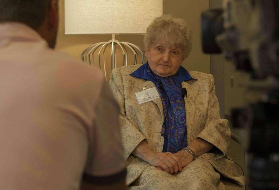 Eva Kor is a Holocaust survivor and advocate of forgiveness. Photo: Scott Jones