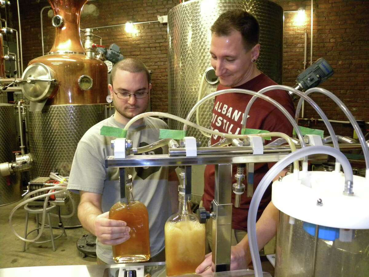 Distillery Tour and Glasses for One, Two, or Four at The Albany Distilling Company (Up to 50% Off). Get the deal here. Choose from three options: - $6.50 for distillery tour for one with one souvenir glass ($10 value) - $10 for distillery tour for two with two souvenir glasses ($20 value) - $20 for distillery tour for four with four souvenir glasses ($40 value)