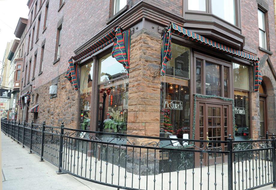 Exterior of McGuire's restaurant on Tuesday Dec. 4, 2012 in Albany, N.Y.  (Lori Van Buren / Times Union) Photo: Lori Van Buren