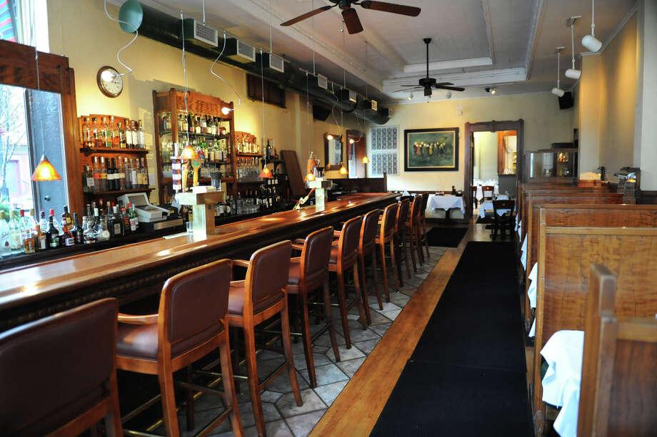 Bar and dining area of McGuire's restaurant on Tuesday Dec. 4, 2012 in Albany, N.Y.  (Lori Van Buren / Times Union) Photo: Lori Van Buren