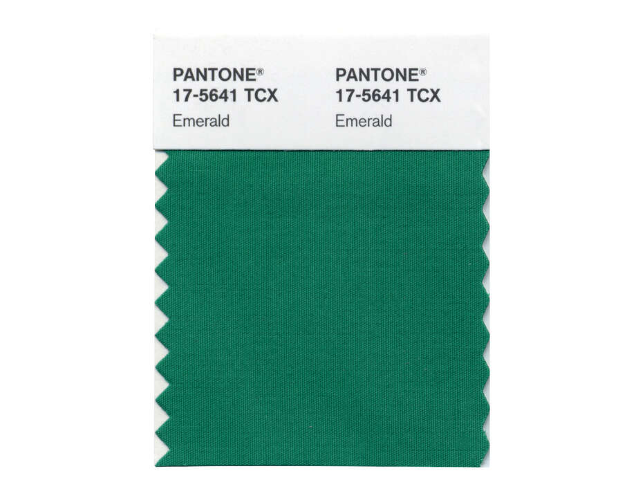 Emerald green beat out all other colors of the rainbow to take the top spot. Photo: HOEP / Pantone LLC