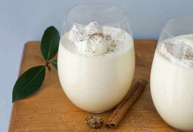 In this image taken on November 5, 2012, two glasses of double whipped eggnog are shown in Concord, N.H. (AP Photo/Matthew Mead) Photo: Matthew Mead, FRE / FR170582
