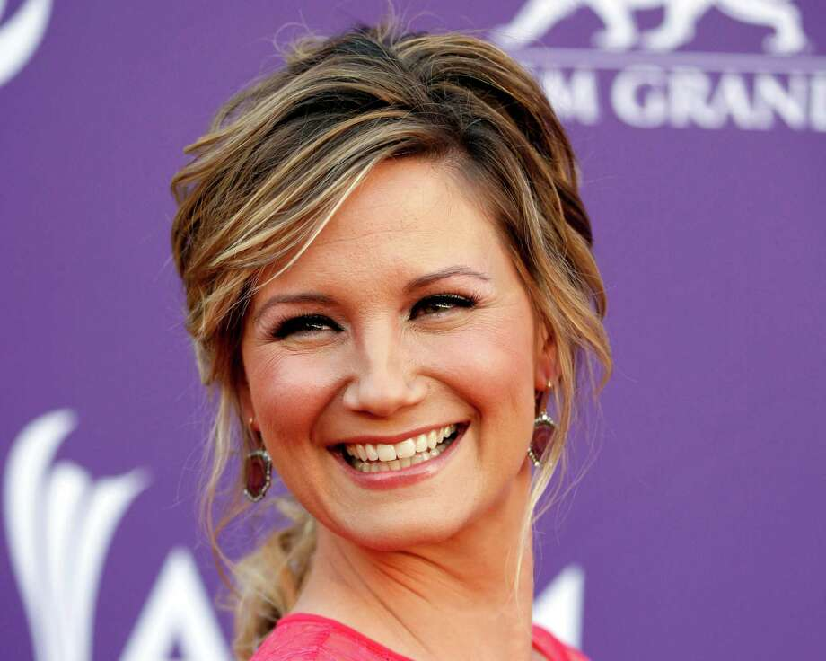 FILE - This April 1, 2012 file photo shows country singer Jennifer Nettles, of musical group Sugarland, arriving at the 47th Annual Academy of Country Music Awards in Las Vegas. The Grammy-winning country singer and and husband Justin Miller announced the birth of their son,  Magnus Hamilton Miller on Thursday, Dec. 6, 2012.   (AP Photo/Isaac Brekken, file) Photo: Isaac Brekken