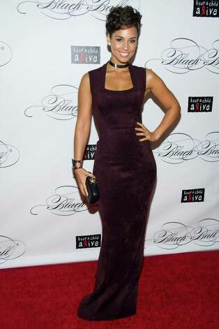 Alicia Keys attends Keep a Child Alive's ninth annual Black Ball on Thursday, Dec. 6, 2012 in New York. (Photo by Charles Sykes/Invision/AP) Photo: Charles Sykes