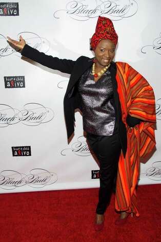 Angelique Kidjo attends Keep a Child Alive's ninth annual Black Ball on Thursday, Dec. 6, 2012 in New York. (Photo by Charles Sykes/Invision/AP) Photo: Charles Sykes