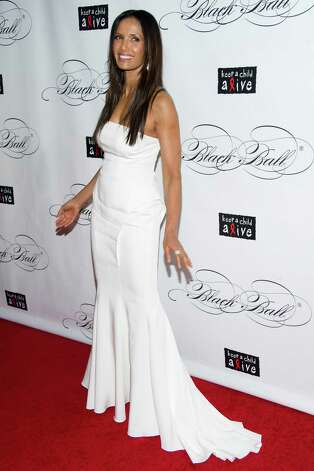 Padma Lakshmi attends Keep a Child Alive's ninth annual Black Ball on Thursday, Dec. 6, 2012 in New York. (Photo by Charles Sykes/Invision/AP) Photo: Charles Sykes