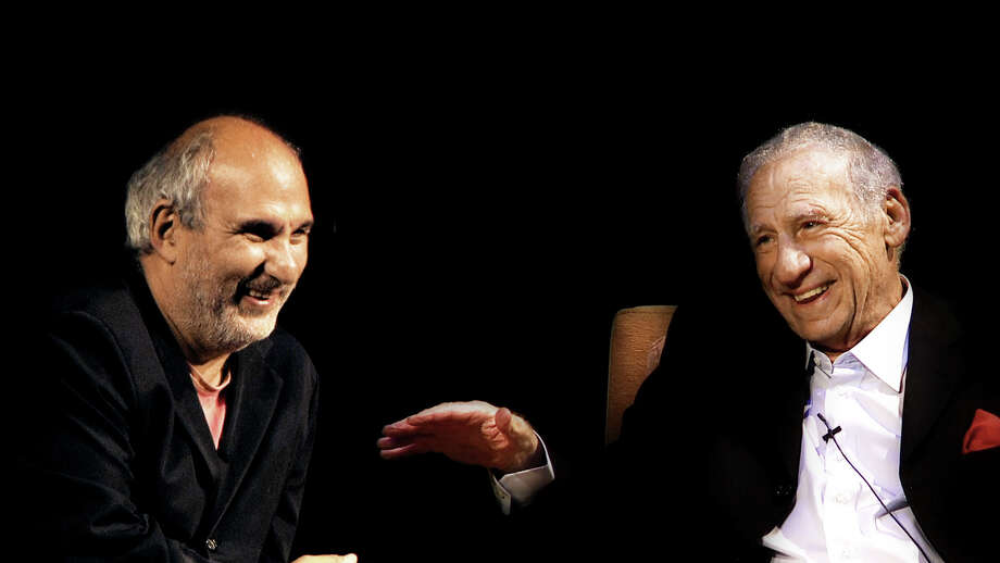 MEL BROOKS STRIKES BACK!: Alan Yentob, Mel Brooks. photo: HBO