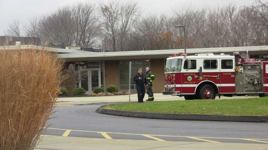 Fumes from chemicals mixed in a science lab at Fairfield Warde High School on Friday morning triggered a hazardous-materials response, but there was no serious fallout from the incident, officials said. Photo: Steve Krauchick / Connecticut Post contributed
