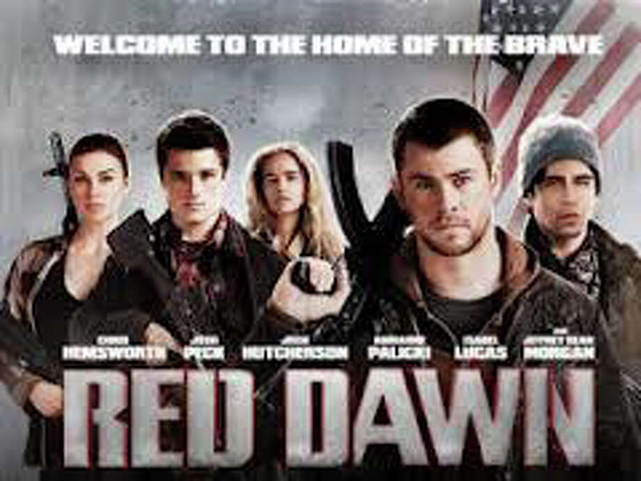 "A new version of the movie, ""Red Dawn,"" is playing in area theaters. Photo: Contributed Photo / Westport News contributed"