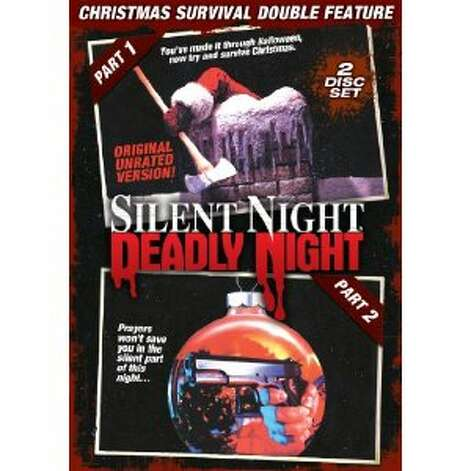 """Silent Night, Deadly Night"" -- Santa wants to murder everyone, it seems. This franchise has spawned at least five sequels, so someone must be watching them."