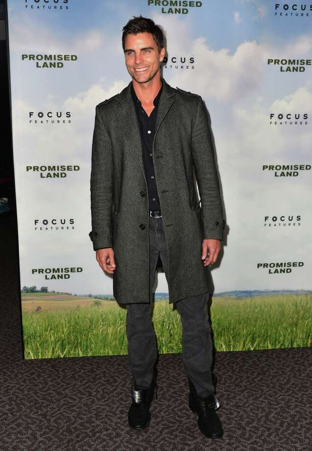 Actor Colin Egglesfield arrives to the premiere of Focus Features' Promised Land at the Directors Guild Of America on December 6, 2012 in Los Angeles, California. Photo: Alberto E. Rodriguez, Getty Images / 2012 Getty Images