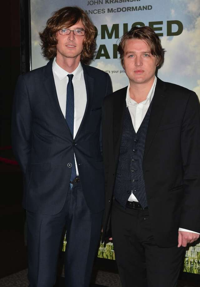 Musicians Joey Ryan and Kenneth Pattengale of The Milk Carton Kids arrive to the premiere of Focus Features' Promised Land at the Directors Guild Of America on December 6, 2012 in Los Angeles, California. Photo: Alberto E. Rodriguez, Getty Images / 2012 Getty Images