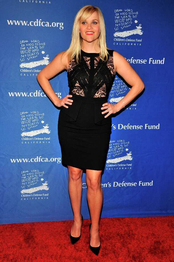 Reese Witherspoon arrives for the Children's Defense Fund-California 22nd Annual Beat the Odds Awards at Beverly Hills Hotel on December 6, 2012 in Beverly Hills, California. Photo: Toby Canham, Getty Images / 2012 Getty Images