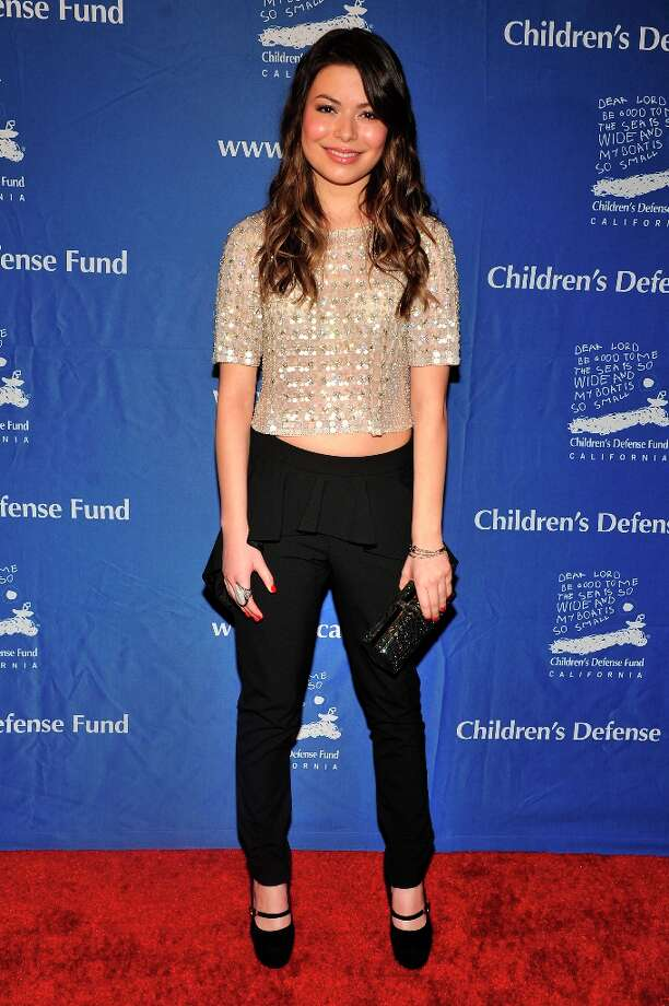 Miranda Cosgrove arrives for the Children's Defense Fund-California 22nd Annual Beat the Odds Awards at Beverly Hills Hotel on December 6, 2012 in Beverly Hills, California. Photo: Toby Canham, Getty Images / 2012 Getty Images