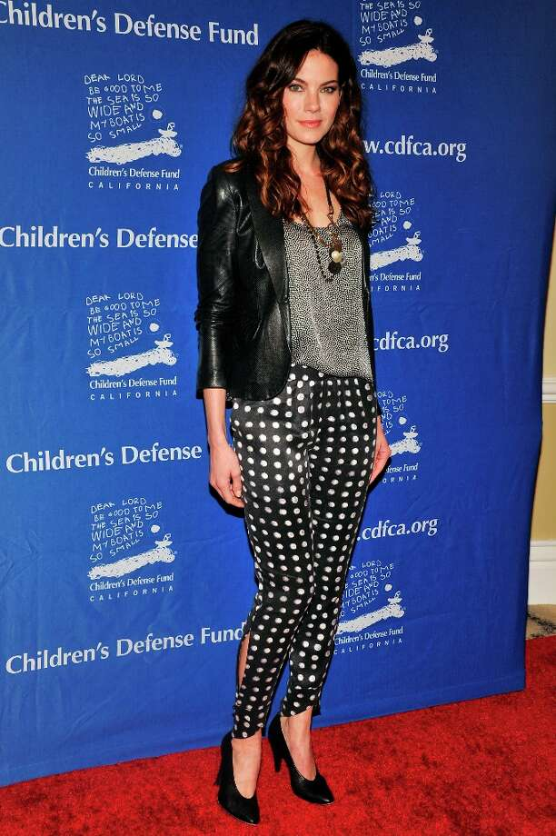 Michelle Monaghan arrives for the Children's Defense Fund-California 22nd Annual Beat the Odds Awards at Beverly Hills Hotel on December 6, 2012 in Beverly Hills, California. Photo: Toby Canham, Getty Images / 2012 Getty Images