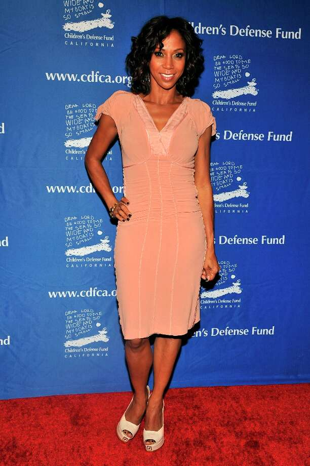 Holly Robinson Peete arrives for the Children's Defense Fund-California 22nd Annual Beat the Odds Awards at Beverly Hills Hotel on December 6, 2012 in Beverly Hills, California. Photo: Toby Canham, Getty Images / 2012 Getty Images
