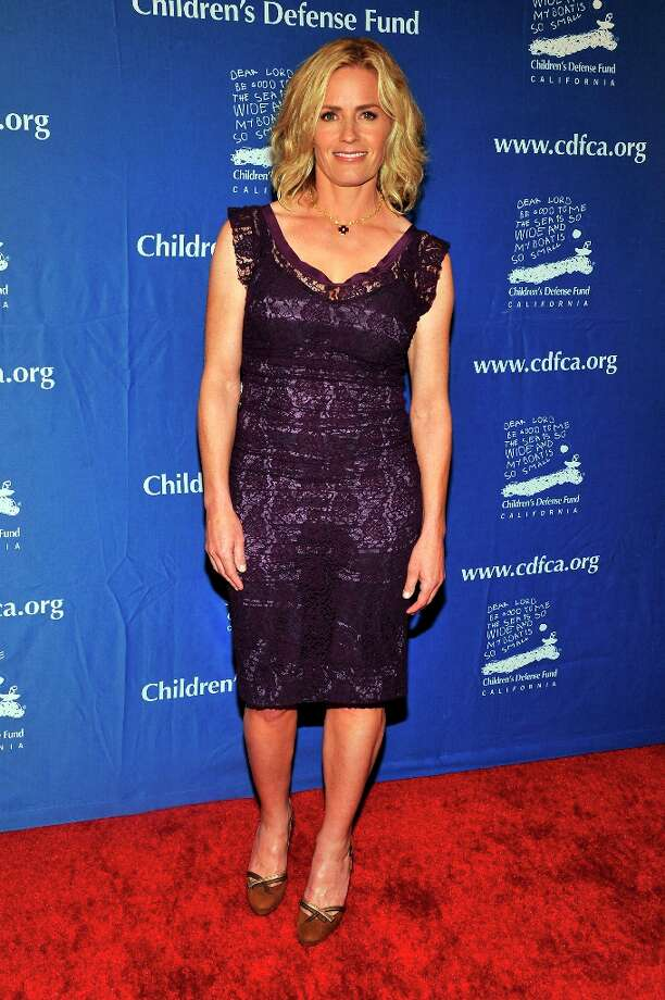 Elizabeth Shue arrives for the Children's Defense Fund-California 22nd Annual Beat the Odds Awards at Beverly Hills Hotel on December 6, 2012 in Beverly Hills, California. Photo: Toby Canham, Getty Images / 2012 Getty Images