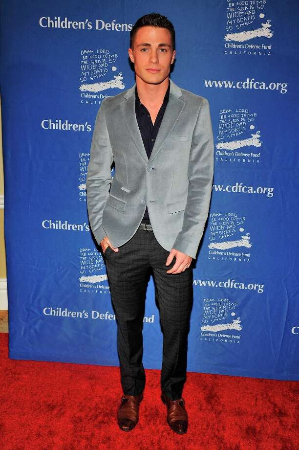 Colton Haynes arrives for the Children's Defense Fund-California 22nd Annual Beat the Odds Awards at Beverly Hills Hotel on December 6, 2012 in Beverly Hills, California. Photo: Toby Canham, Getty Images / 2012 Getty Images