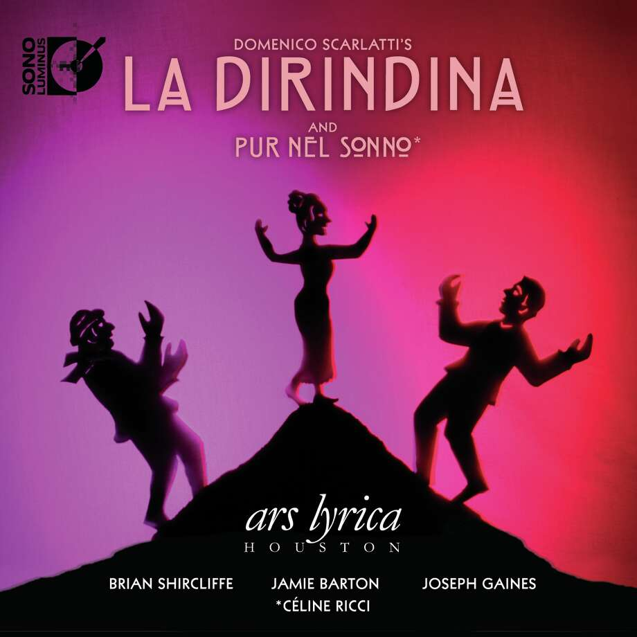 "CD cover of Domenico Scarlatti's ""La Dirindina,"" releasaed by Ars Lyrica Houston. Photo: Courtesy Ars Lyrica"