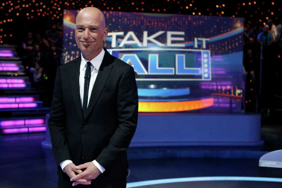 "Just in time for the holidays is a new Howie Mandel-hosted game show, ""Take It All,"" in which two competitors are pitted against each other in a battle of will and/or greed. The series premieres at 8 p.m. Monday on NBC. Photo: Jordin Althaus, Contributor / ONLINE_YES"