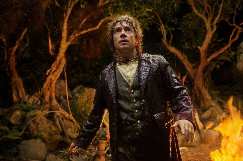 MARTIN FREEMAN as the Hobbit Bilbo Baggins in the fantasy adventure THE HOBBIT: AN UNEXPECTED JOURNEY,€ a production of New Line Cinema and Metro-Goldwyn-Mayer Pictures (MGM), released by Warner Bros. Pictures and MGM.