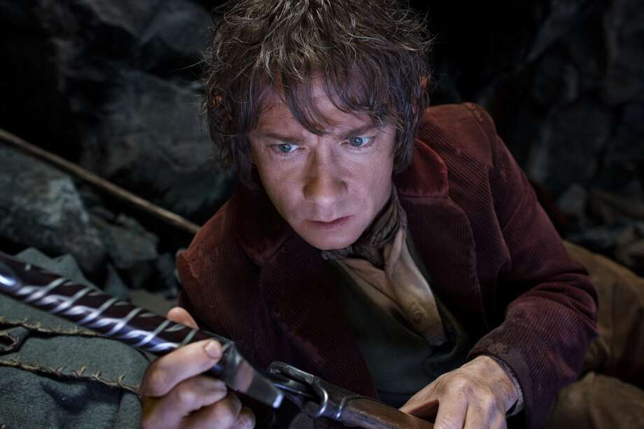 MARTIN FREEMAN as the Hobbit Bilbo Baggins in the fantasy adventure €œTHE HOBBIT: AN UNEXPECTED JOURNEY,€ a production of New Line Cinema and Metro-Goldwyn-Mayer Pictures (MGM), released by Warner Bros. Pictures and MGM.