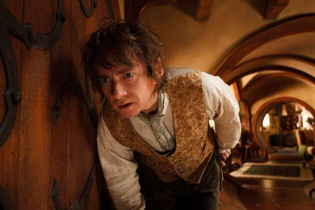 MARTIN FREEMAN as the Hobbit Bilbo Baggins in the fantasy adventure THE HOBBIT: AN UNEXPECTED JOURNEY, a production of New Line Cinema and Metro-Goldwyn-Mayer Pictures (MGM), released by Warner Bros. Pictures and MGM.