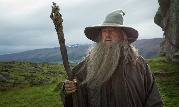 IAN McKELLEN as the Wizard Gandalf the Grey in the fantasy adventure €œTHE HOBBIT: AN UNEXPECTED JOURNEY,€ a production of New Line Cinema and Metro-Goldwyn-Mayer Pictures (MGM), released by Warner Bros. Pictures and MGM.