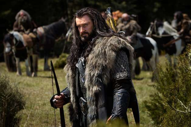 RICHARD ARMITAGE as the Dwarf warrior Thorin Oakenshield in the fantasy adventure THE HOBBIT: AN UNEXPECTED JOURNEY,€ a production of New Line Cinema and Metro-Goldwyn-Mayer Pictures (MGM), released by Warner Bros. Pictures and MGM.