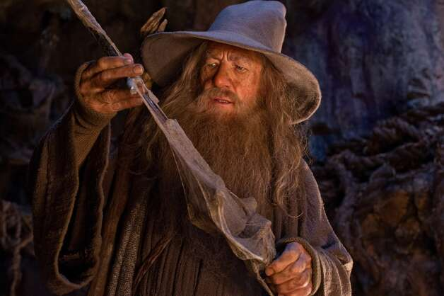 IAN McKELLEN as the Wizard Gandalf the Grey in the fantasy adventure THE HOBBIT: AN UNEXPECTED JOURNEY,€ a production of New Line Cinema and Metro-Goldwyn-Mayer Pictures (MGM), released by Warner Bros. Pictures and MGM.