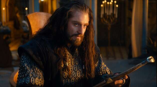 RICHARD ARMITAGE as the Dwarf warrior Thorin Oakenshield in the fantasy adventure €œTHE HOBBIT: AN UNEXPECTED JOURNEY, a production of New Line Cinema and Metro-Goldwyn-Mayer Pictures (MGM), released by Warner Bros. Pictures and MGM.