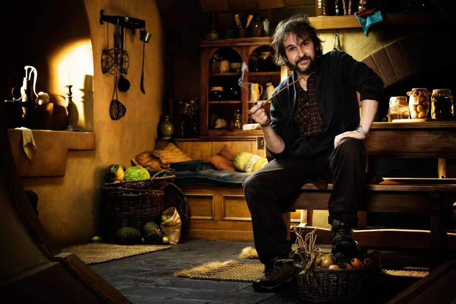 Director PETER JACKSON on the Bag End set of the fantasy adventure THE HOBBIT: AN UNEXPECTED JOURNEY,€ a production of New Line Cinema and Metro-Goldwyn-Mayer Pictures (MGM), released by Warner Bros. Pictures and MGM.