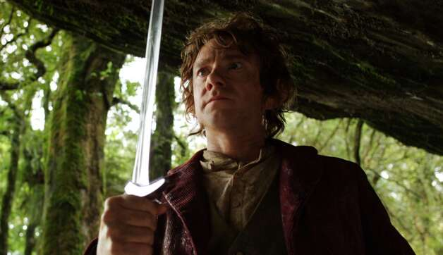 MARTIN FREEMAN as the Hobbit Bilbo Baggins in the fantasy adventure €œTHE HOBBIT: AN UNEXPECTED JOURNEY, a production of New Line Cinema and Metro-Goldwyn-Mayer Pictures (MGM), released by Warner Bros. Pictures and MGM.