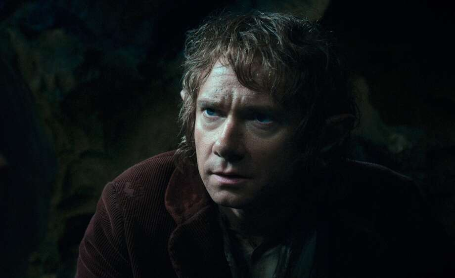 MARTIN FREEMAN as the Hobbit Bilbo Baggins in the fantasy adventure THE HOBBIT: AN UNEXPECTED JOURNEY,€ a production of New Line Cinema and Metro-Goldwyn-Mayer Pictures (MGM), released by Warner Bros. Pictures and MGM.