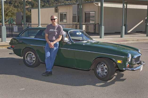 'I remember seeing a green P1800 on the freeway in Chicago back in 1973, and I thought to myself that I would like to purchase the same car in the near future. Little did I know that it would take 24 years before I would find the opportunity to buy one.' Photo: Stephen Finerty