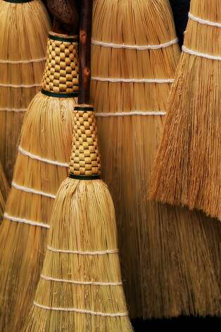 Norway - Hide the brooms In the old days, people believed witches came out on Christmas Eve to look for brooms to ride on, so they hid them all ways possible.  Today Norwegian women still hide all brooms in their house before going to bed on Christmas Eve. (Photo by Rob Schenk/Flickr) Photo: Rob Shenk, Flickr