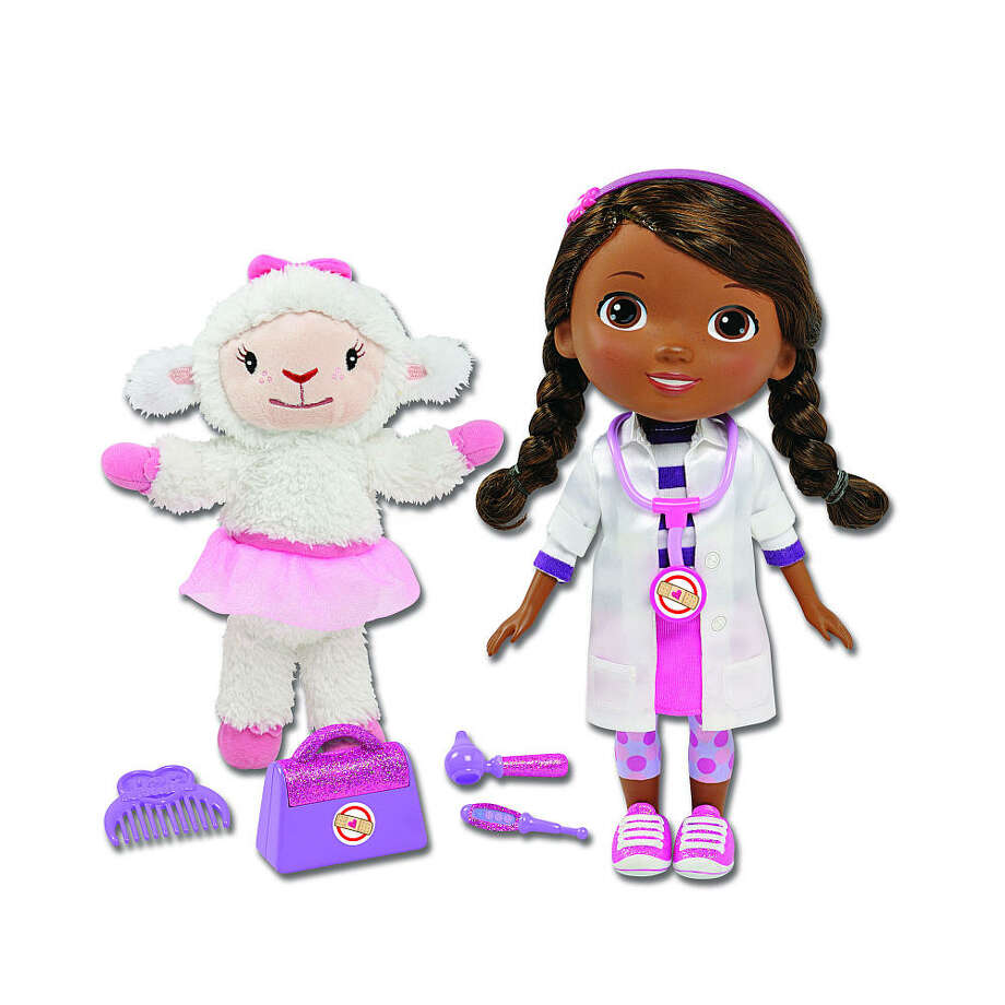 Doc McStuffins Time for Your Checkup doll, $39.99, ages 3-7. Based on the character in Disney's animated TV series of the same name, this smart gal talks and sings the Time for Your Check-Up song.