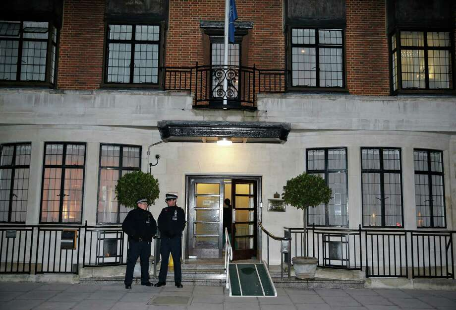 A King Edward VII hospital statement reported Friday a nurse involved in a prank telephone call from two radio DJs to the Duchess of Cambridge has died. Photo: Lefteris Pitarakis, STF / AP