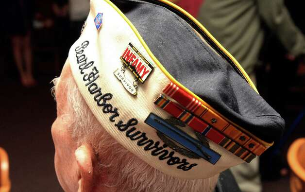 Pearl Harbor veteran Kenneth Platt, 91, was in Honolulu on Dec. 7, 1941. Photo: Helen L. Montoya, San Antonio Express-News / ©SAN ANTONIO EXPRESS-NEWS