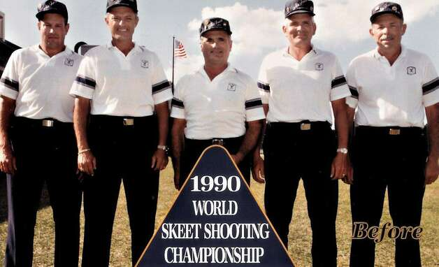 The United States Air Force Skeet Team in 1990.