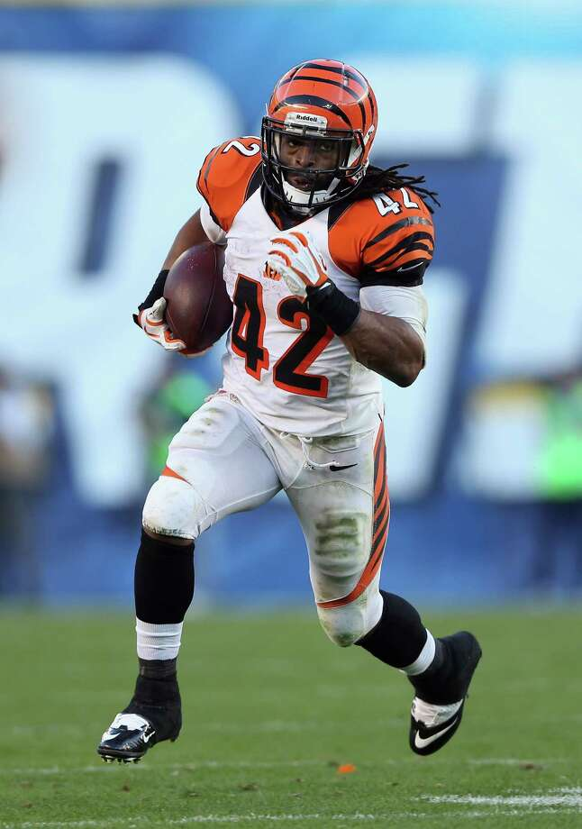 BenJarvus Green-Ellis of the Bengals will be the latest back to test Rob Ryan's struggling defense. Green-Ellis is 11th in the league in rushing with 885 yards. Photo: Jeff Gross, Getty Images / 2012 Getty Images