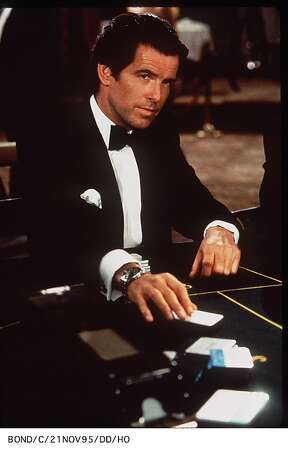 James Bond (Pierce Brosnan) knows his way around a baccarat table. Photo: Handout