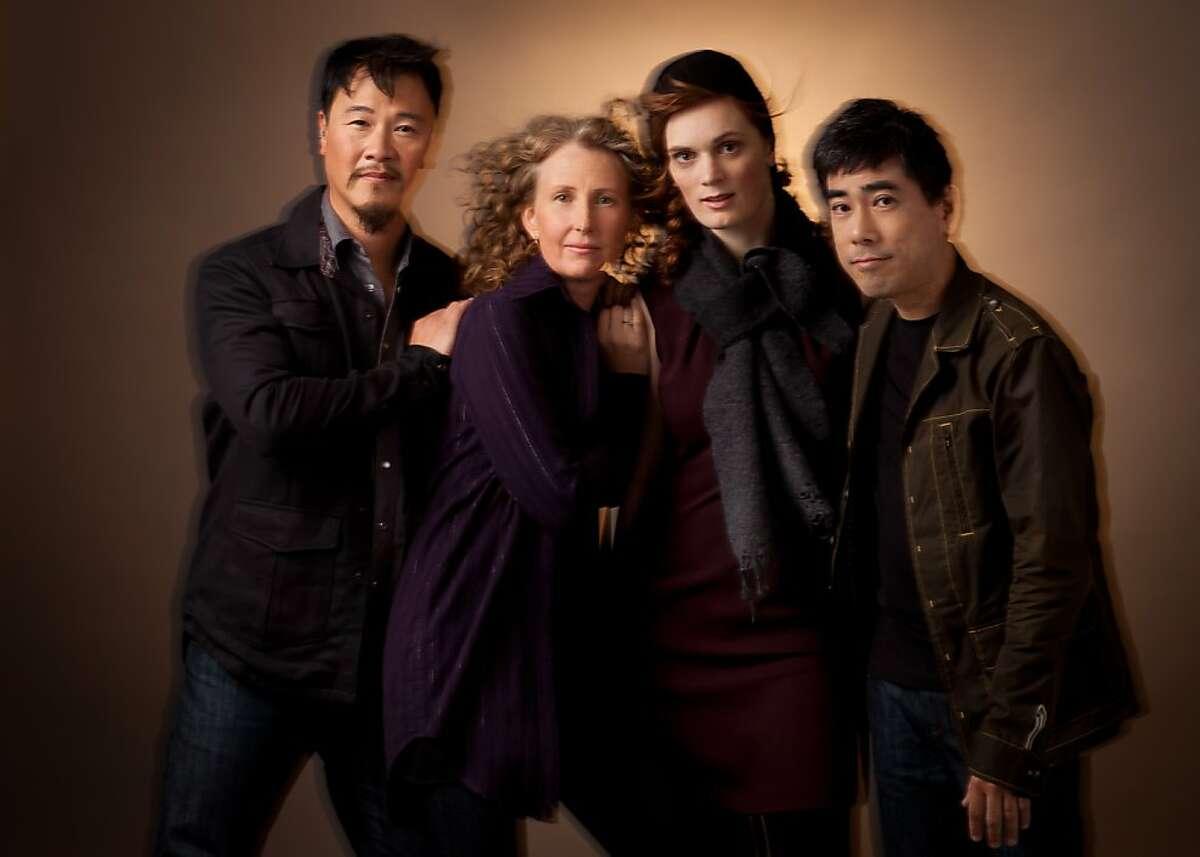 The Del Sol Quartet: from left, violist Charlton Lee, violinist Kate Stenberg, cellist Kathryn Bates Williams, violinist Rick Shinozaki
