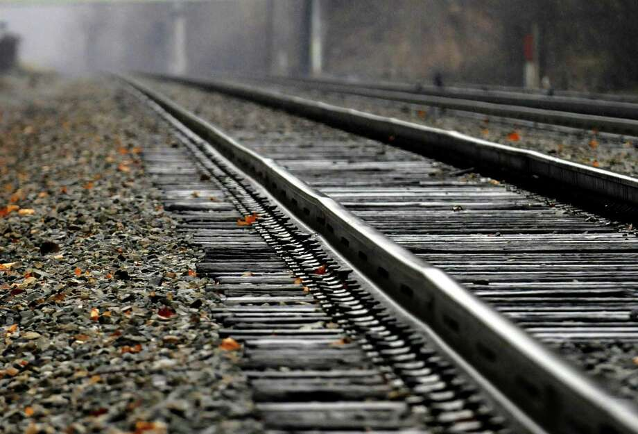 Detail of train tracks on the Amtrak Hudson Line in Rensselaer, NY Friday Dec. 7, 2012. (Michael P. Farrell/Times Union) Photo: Michael P. Farrell
