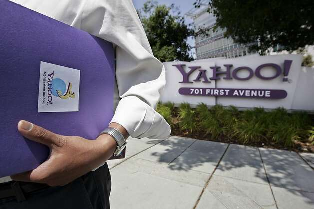 Yahoo is among a number of companies that have been through revolts by activist investors. Photo: Paul Sakuma, AP