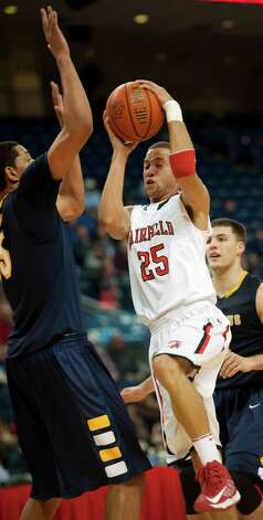 Canisius College vs. Fairfield University in men's basketball played at Webster Bank Arena, Bridgeport CT on Friday December 7th, 2012. Photo: Mark Conrad / Connecticut Post Freelance