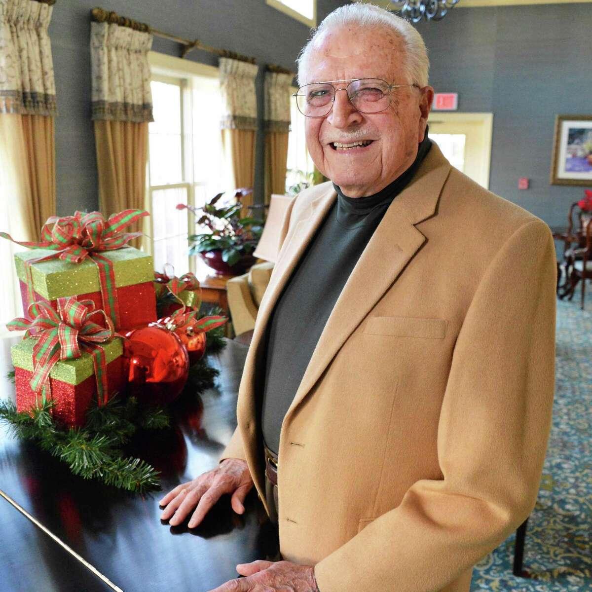 Rev. Robert Lamar at the Beverwyck residential community in Bethlehem Thursday Dec. 6, 2012. (John Carl D'Annibale / Times Union)